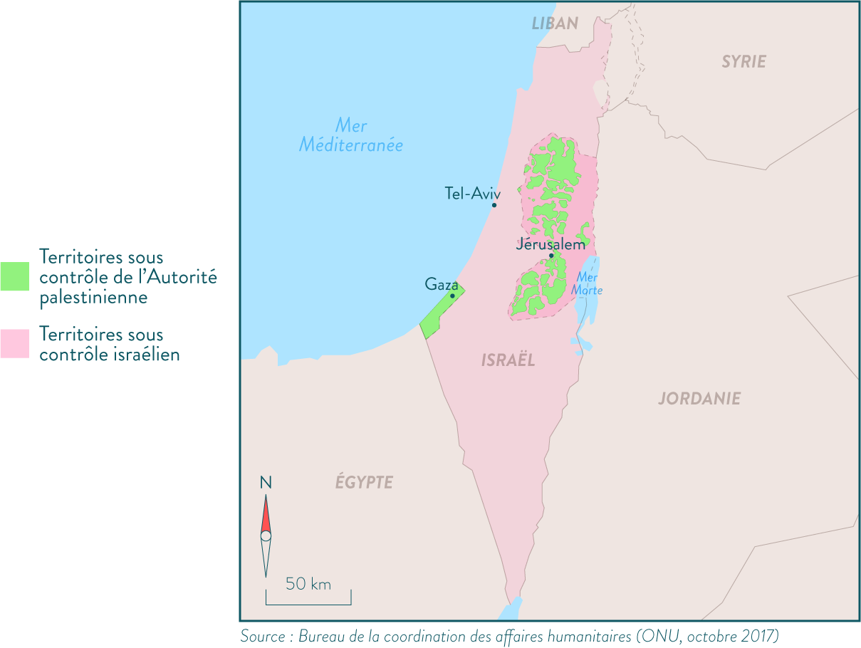 Colonisations israéliennes en terre palestinienne