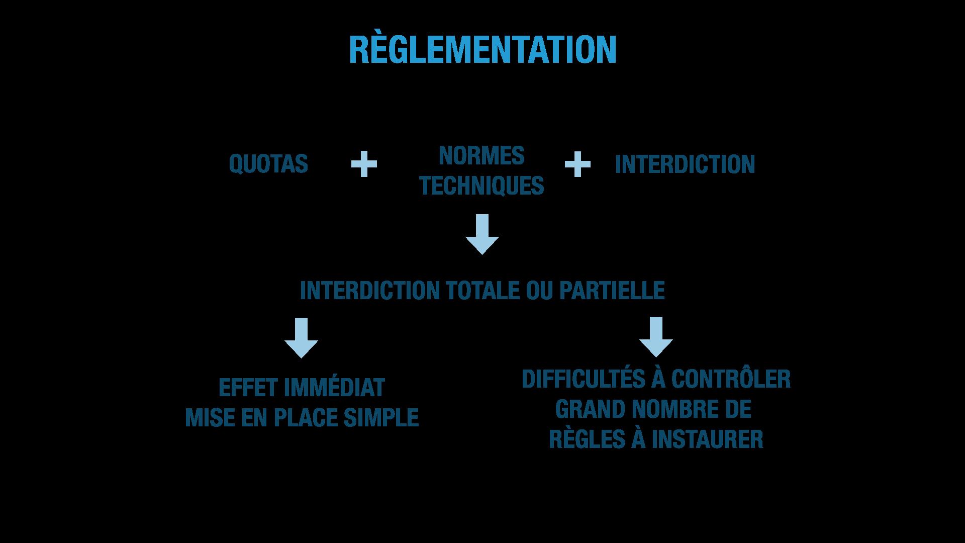 la réglementation ses terminale
