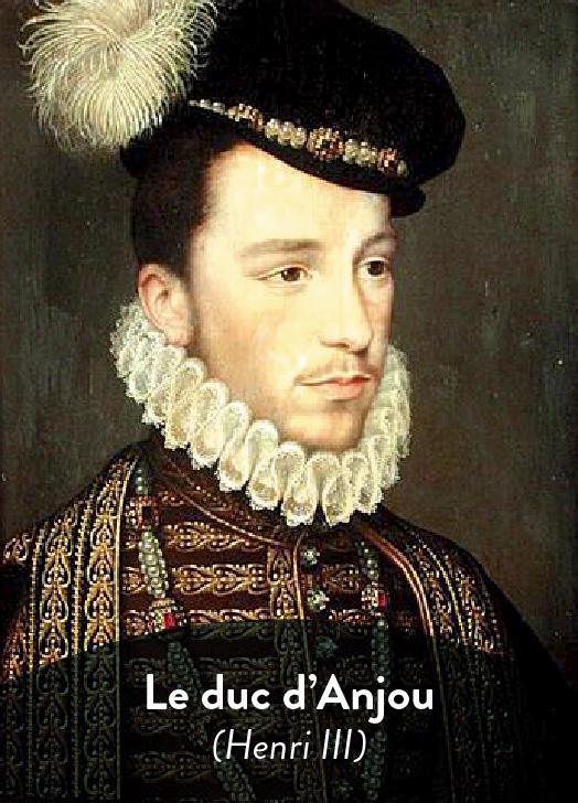 Le duc d'Anjou La Princesse de Montpensier littérature terminale