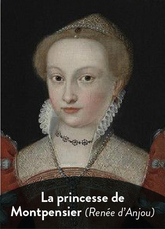 La princesse de montpensier Renée d'Anjou littérature terminale