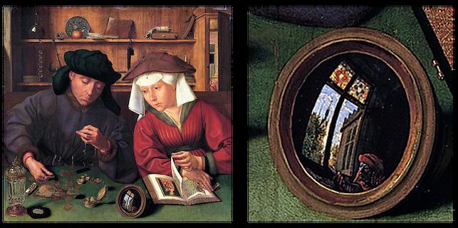 Quentin Metsys, Le Prêteur et sa femme, 1514 Les Faux-Monnayeurs André Gide littérature terminale