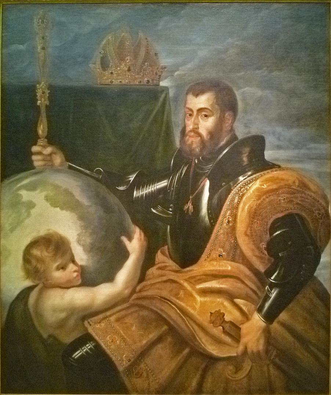 Pierre-Paul Rubens, Charles Quint maître du monde, allégorie, vers 1604